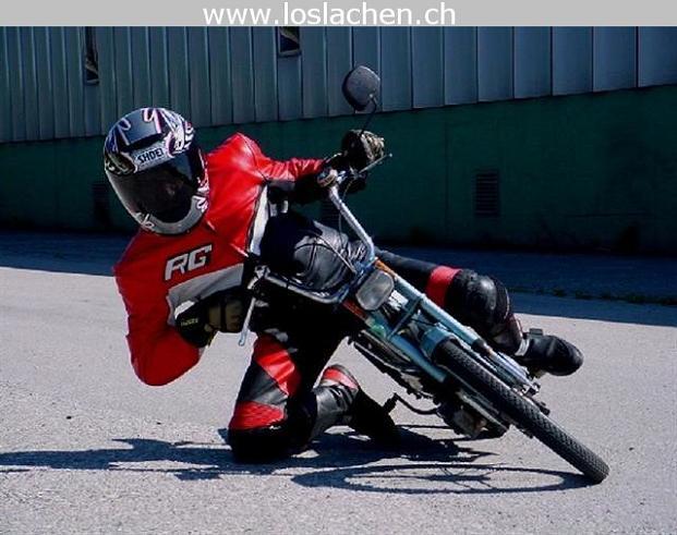 Motorrad 4 Loslachen Ch