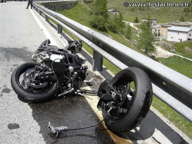 Der Spontane Ausflug der mit einem Doppelunfall endete.