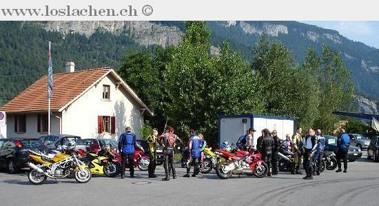 3. V-Zug / GRischa Biker Ausflug vom Sonntag 17.07.05