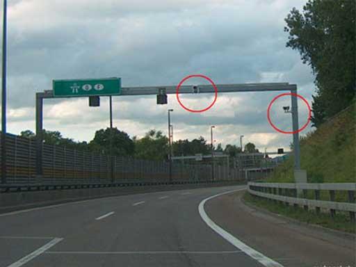 Radar Verzweigung Basel-Süd