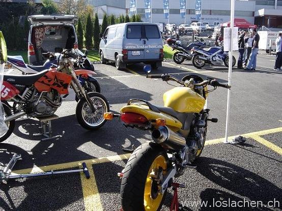 Motorrad Böre bei Hostettler in Sursee 30.10.2005