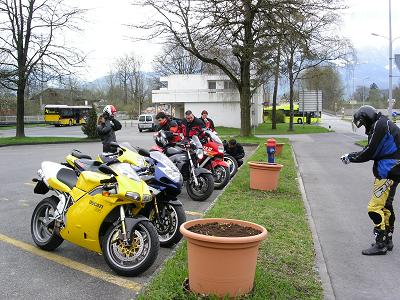 Kurze Ausfahrt mit Kaffeeplausch 1 kleines Paessli ca.96 km