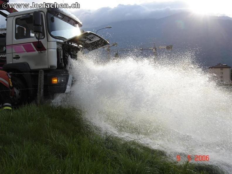 Wasserschaden Hydrant Teil 2