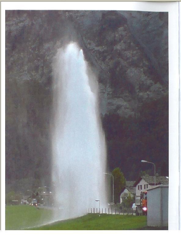 Der Hydrant von Igis