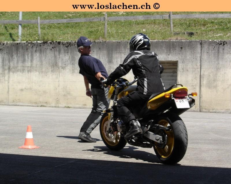 Motorradfahrkurs mit Allianz Suisse
