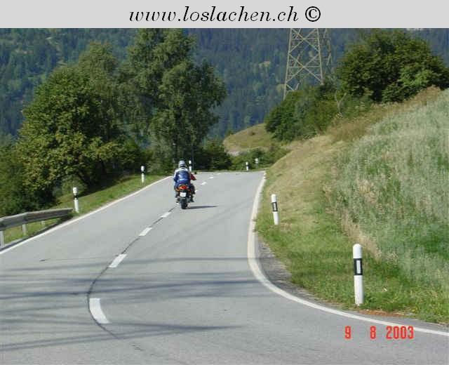 Trainings Ausflug mir der BMW 650 CS