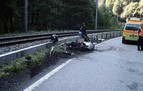 Unfall. Der kürzeste Samstagsausflug!
