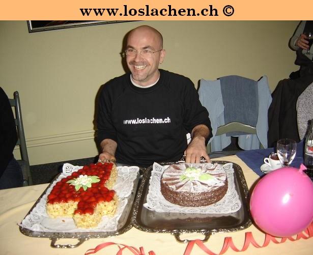 40er Geburtstag mit Ueberraschungsparty