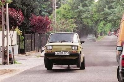 Fiat wheelie