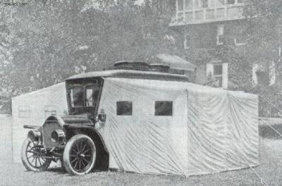 Wohnmobil der Anfang