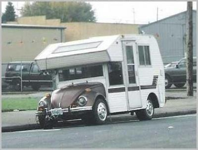 VW-Käfer als Wohnmobil
