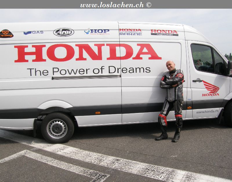 Magny Cours 9./10.Mai 2008 mit Honda Schweiz