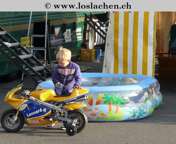 Der kleine Rennfahrer