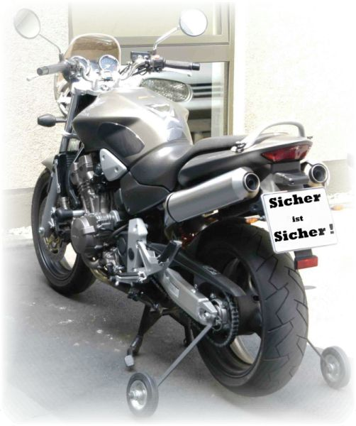 Motorradneulinge haben es einfach