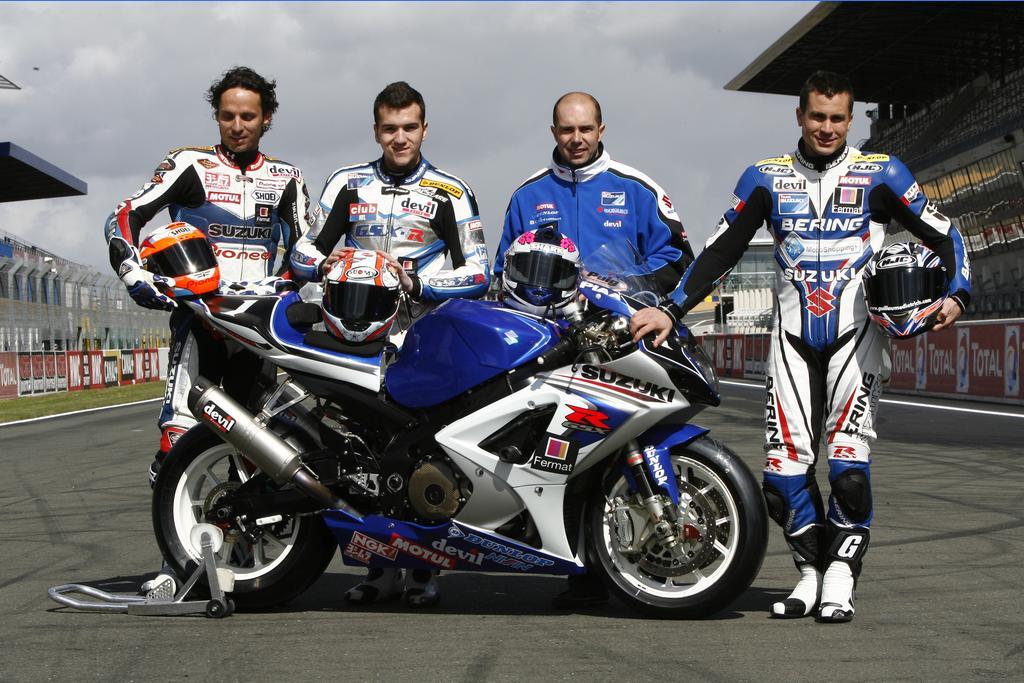 Suzuki gewinnt Endurance 2008