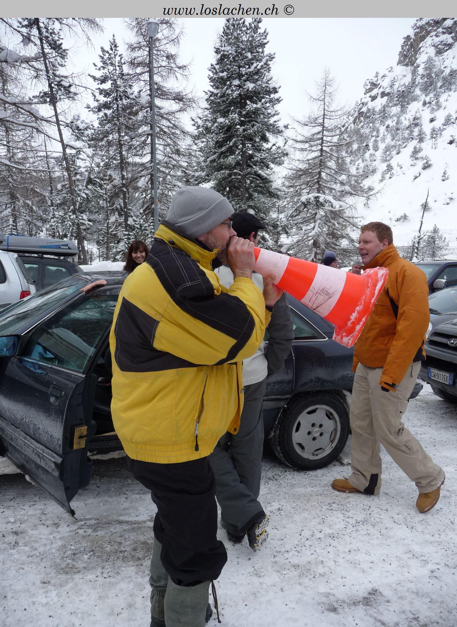 Motorschlittenfahren in Livigno