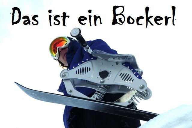 Ski-Bockerl und Balancer Rennen