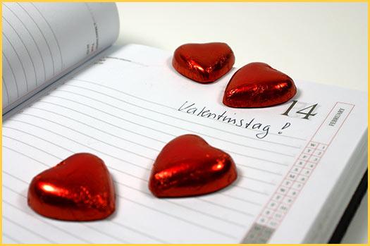 Elegant Geschichte über Den Valentinstag Der 14.Februar Ist Der Termin Der Liebe  Und Aller Liebenden.