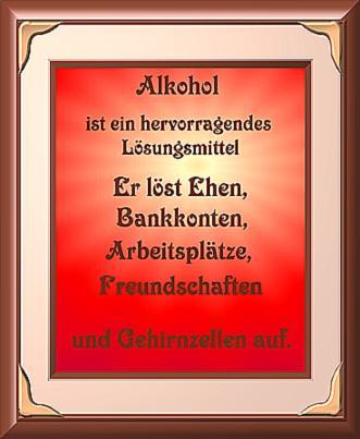 Alkohol ist ein… | loslachen.ch