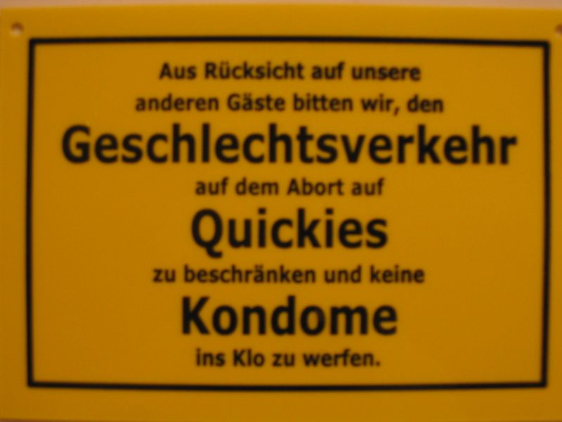 Quickie Loslachen Ch