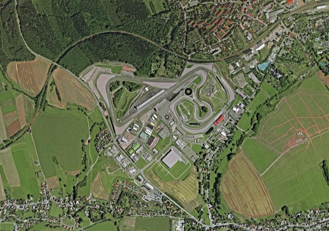 Sachsenring Circuit Map Sachsenring Circuit Com