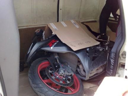 Polizei findet gestolenes Motorrad dank LoJack