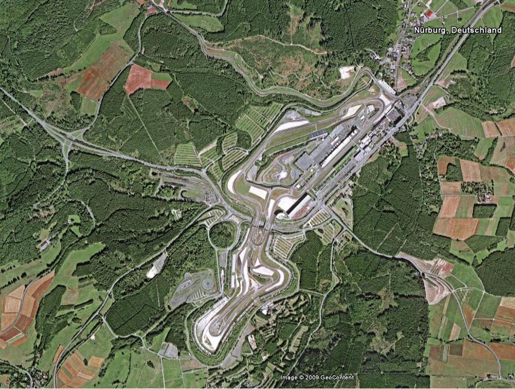 Nürburgring, wie wo was.