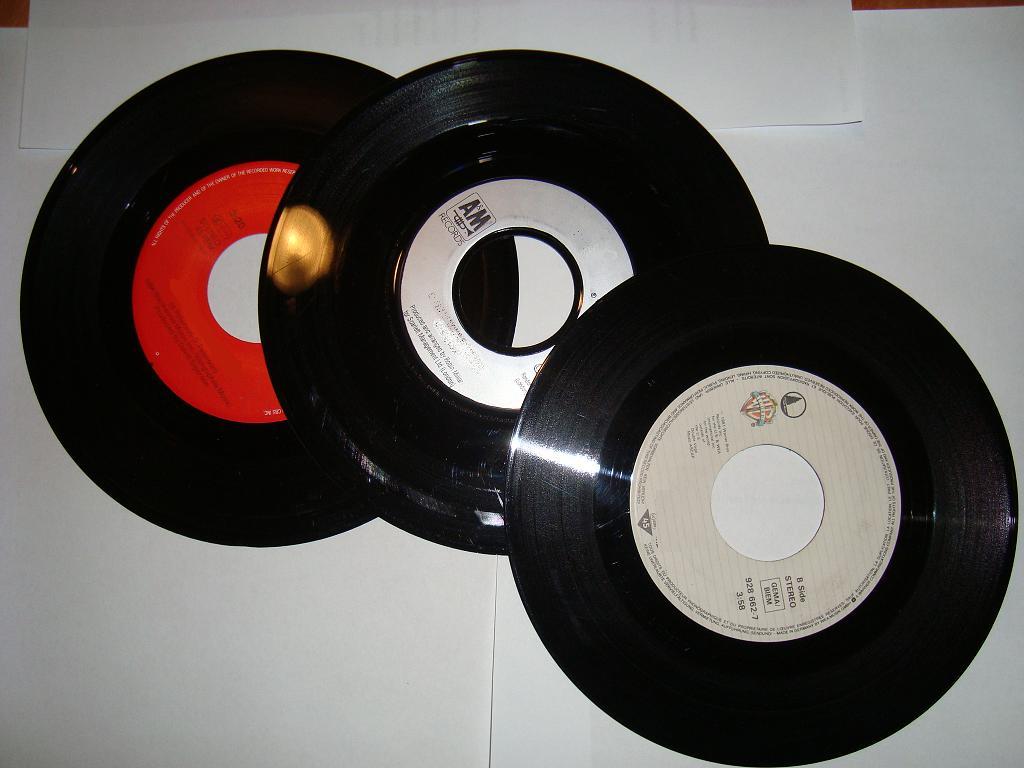 Zu Verkaufen mehr als 500 Vinyl Singels