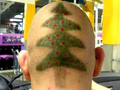 Weihnachts Frisur