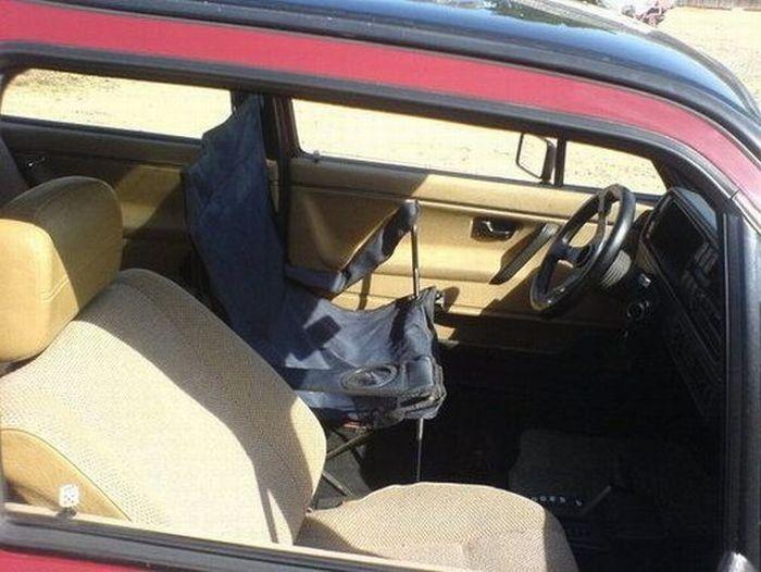 Moderner Autositz