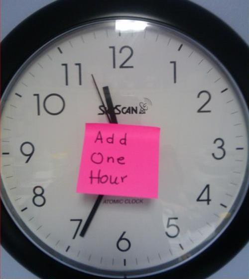 Probleme bei der Zeitumstellung?