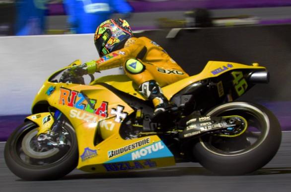 Valentino Rossi mit Suzuki?