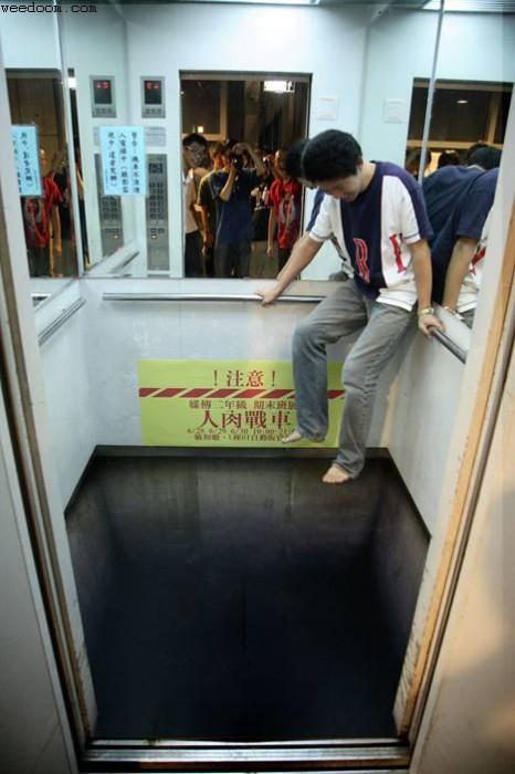 Gefährliche Aufzüge