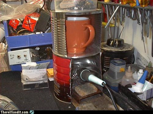 Tassenwarmhalte System