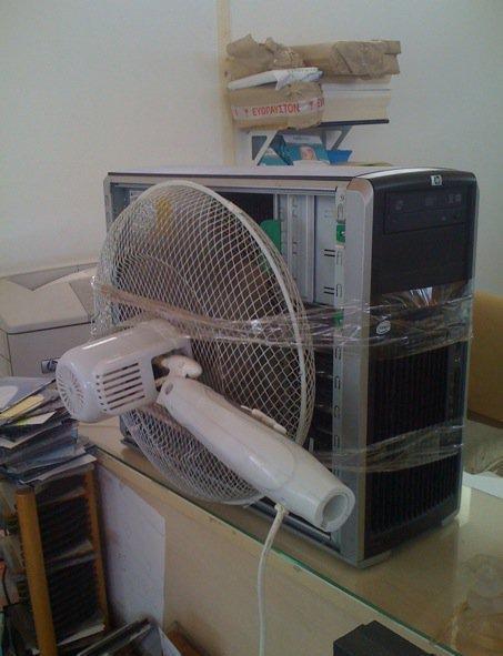 Wenn dein PC zu warm hat…