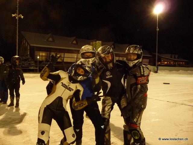 Eisspeedway in Flims 2011-01-26