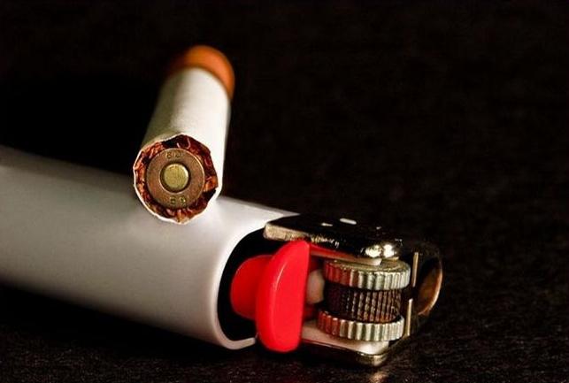 Nichtraucher innerhalb wenige Sekunden