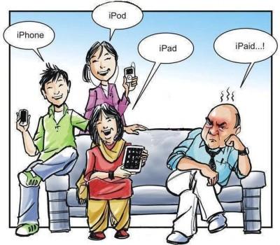 Die iPhone iPod iPad iPaid Generation