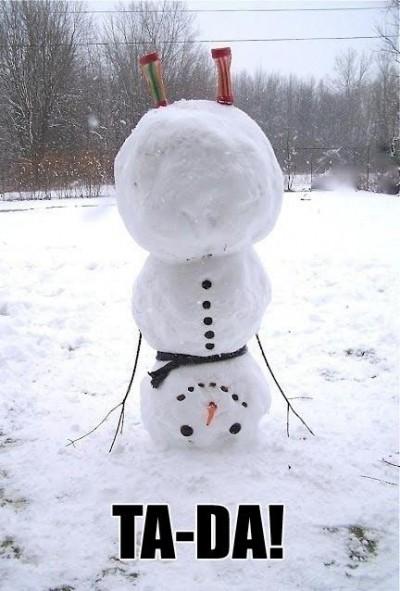Der andere Schneemann