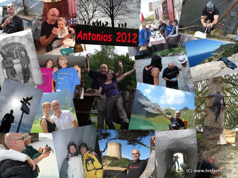 Antonios Rückblick 2012