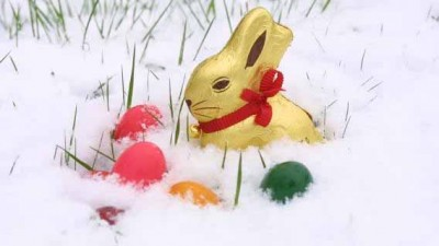 Das passiert halt wenn es schneit an Ostern