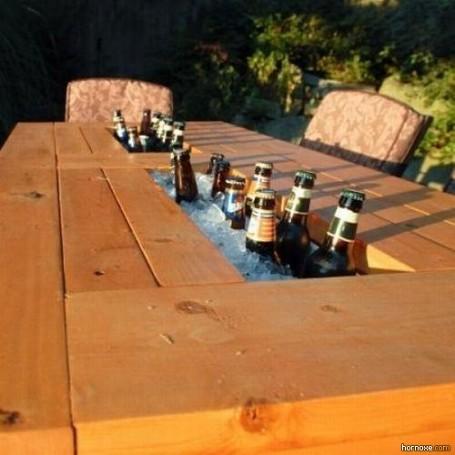 Bier Kühl-System