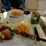 Abendessen auf der Insel