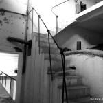 Brüchiges Treppenhaus