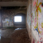 Überall verlassene Gebäude