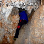 Erkunden in der Höhle