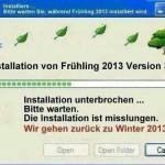 installation fruehling