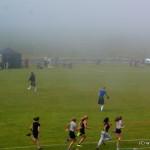 Atleten bei den Highlandgames in Durness
