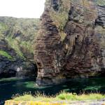 Bucht von Whaligoe Steps