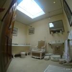 Das Badezimmer im Schloss Dunrobin